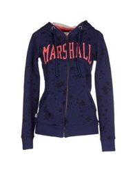 Franklin And Marshall Sweatshirts Dark Blue