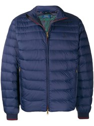 Polo Ralph Lauren Quilted Down Jacket Blue