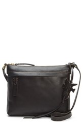 Frye Carson Leather Crossbody Bag Black