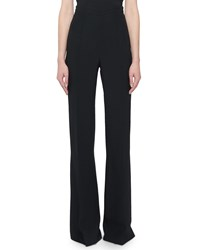 Andrew Gn High Rise Classic Boot Cut Pants Black