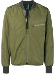 Paul Smith Ps By Bomber Jacket Green
