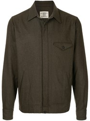 Kent And Curwen Curwenilitary Style Jacket Cotton M Green