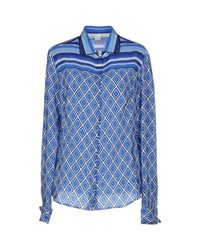 Fay Shirts Shirts Women Blue
