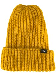 Paul Smith Ps By Chunky Knit Beanie Yellow Orange