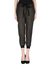 Soho De Luxe Trousers Casual Trousers Women Khaki