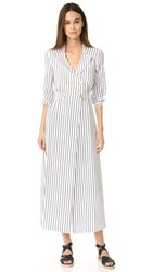 Nightwalker The Dawn Maxi Dress Nautical Stripe