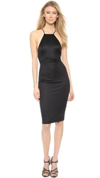 Aq Aq Crime Midi Dress Black