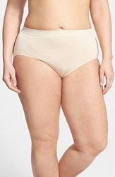 Plus Size Women's Wacoal 'B Smooth' Briefs Naturally Nude