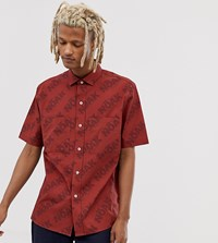 Noak Shirt With Patch Pockets Red