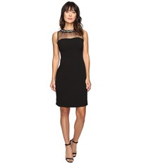 Rsvp Gala Illusion Dress Black Women's Dress