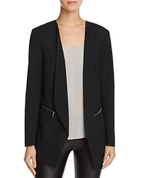 Vero Moda Dana Zip Pocket Blazer Black