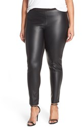 Plus Size Women's Tart 'Morgan' Faux Leather And Ponte Leggings