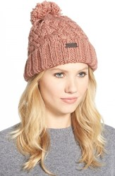 Women's Barbour 'Maybole' Beanie Pink Old Rose