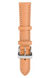 Jack Mason Women's Leather Watch Strap 18Mm Camel Brown