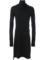 Lost And Found Ria Dunn Long Roll Neck Jumper Black