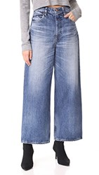 Red Card Sunrise High Rise Wide Leg Jeans Kita Mid Used