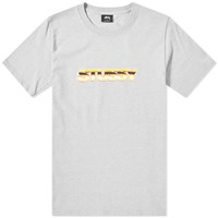 Stussy Pure Gold Tee Grey