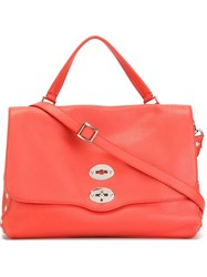 Zanellato Medium 'Postina' Satchel Yellow And Orange