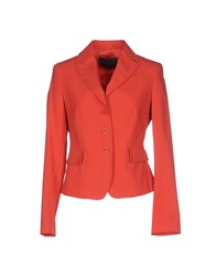 Paola Rossini Suits And Jackets Blazers Women Coral