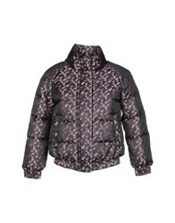Red Valentino Redvalentino Synthetic Down Jackets Deep Purple