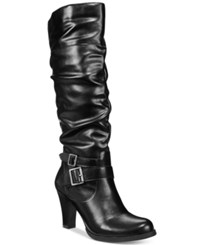 Styleandco. Style Co. Rudyy Boots Only At Macy's Women's Shoes Black