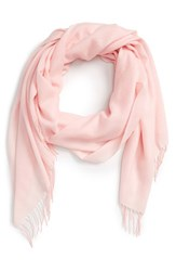 Women's Nordstrom Tissue Weight Wool And Cashmere Scarf Pink Pink Ballet