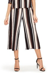Missguided Women's Stripe Pleated Culottes