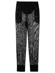 Amir Slama Mesh Trousers Black