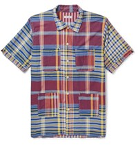 Engineered Garments Checked Cotton Shirt Red