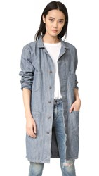 6397 Herringbone Work Coat Washed Herringbone