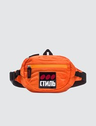 Heron Preston Ctnmb Dots Fanny Pack Orange