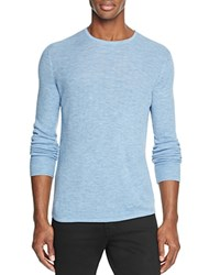 Rag And Bone Gregory Merino Wool Blend Sweater Denim Blue