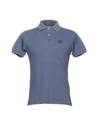 Henri Lloyd Polo Shirts Slate Blue
