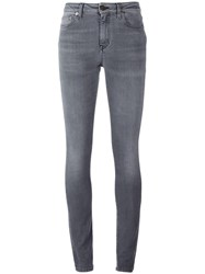Saint Laurent Skinny Fit Jeans Grey