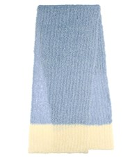 Jacquemus Wool And Mohair Scarf Blue