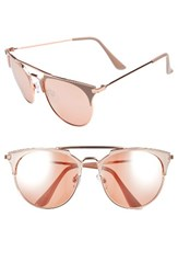 Women's Bp. Retro Sunglasses Nude Rose Gold Nude Rose Gold
