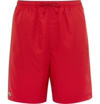 Lacoste Tennis Shell Shorts Red