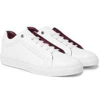Brioni Leather Sneakers White
