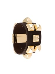 Givenchy Clasp Fastening Cuff Brown