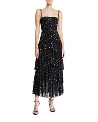 Donna Mizani Pierre Starry Tiered Gown Multi