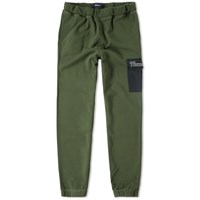 Thames Overdyed Sweat Pant Green