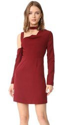 Finders Keepers Finderskeepers The Message Mini Dress Berry