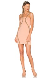 Vatanika Embellished Stretch Mini Dress Pink