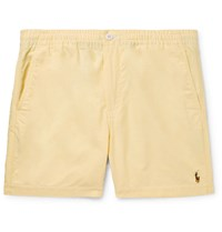 Polo Ralph Lauren Prepster Cotton Oxford Shorts Yellow