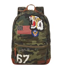 Ralph Lauren Military Camouflage Backpack Green
