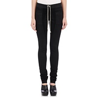 Rick Owens Moto Leggings Black