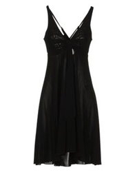 Costume Short Dresses Black
