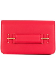 Tom Ford Hand Strap Clutch Red