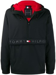 Tommy Hilfiger Classic Hooded Anorak Black