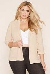 Forever 21 Plus Size Collared Blazer